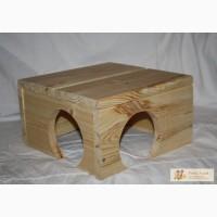 Домики (деревянные)для шиншилл