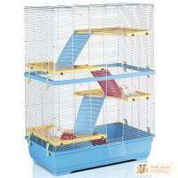 Клетки для хомяков Imac Rat 80 Double - клетка для крыс, пластик Размер 80*48,5*110 см