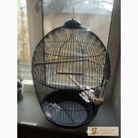 Клетка для птиц и попугаев № 480 (черная)