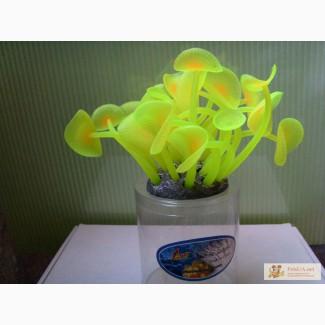 Актинии SH 599, силиконовые аквариумные растения, искуственные