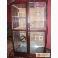 Клетка-витрина для шиншилл