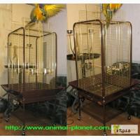 Высококачественный полностью металлический разборной вольер для содержания крупных птиц
