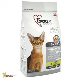 Корм для кошек 1st Choice (Фест Чойс) с уткой и картошкой гипоаллергенный