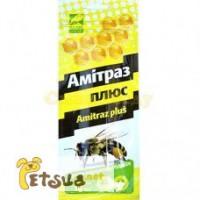 Амитраз-плюс (амитраз, тимол)10 полосок в уп. 44 грн