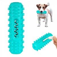 Игрушка для собак petfun dental кость с пищалкой 18 х 6 см
