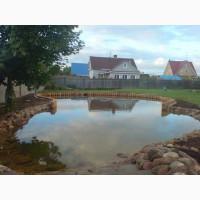 Берегоукрепление прудов и водоемов в Харькове