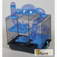 Клетка для грызунов и хомяков Inter-zoo Teddy Lux 1 - Rocky + Terrace