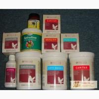 Витамины, красители и пищевые добавки для птиц