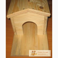 Дом для шиншиллы деревянный