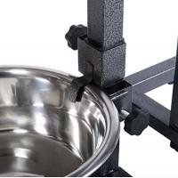 Устойчивая подставка-дуга с двумя мисками (1, 8л) для собак