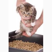 Древесный наполнитель для кошачьих туалетов в мешках (30кг)