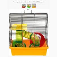 Клетка для грызунов Бунгало 2 люкс