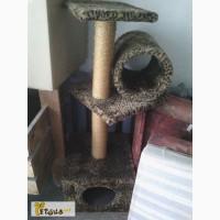 Домик и когтеточка для котов и кошек