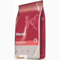 FITMIN Salmon Cat Сухой корм с лососем для кошек, суперпремиум, Чехия