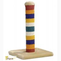 Pet Pro РАДУГА когтеточка-столбик для кошек 28х28х45 см