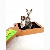 Натуральный кошачий и собачий лоток-туалет «ПИС ПИС»