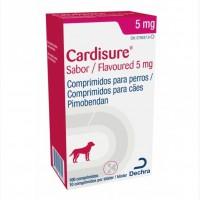 Кардишур (Cardisure) при сердечной недостаточности у собак, 5 мг, 10 мг 100 таб