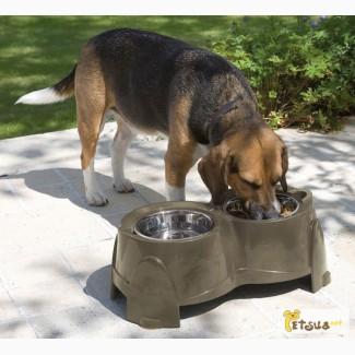 Подставка с мисками для собак Savic Эрго фидер