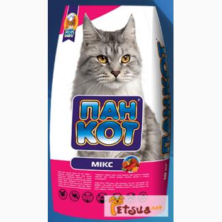 ПАН КОТ Мікс 10 кг. сухой корм для кошек
