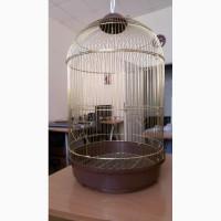 Клетка для птиц средняя круглая