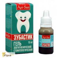 Зубастик гель стоматологический, фл. 15 мл