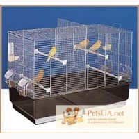Клетки для волнистых попугаев, канареек, амадин, корелл, неразлучников,
