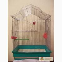 Клетка для попугаев б/у в хорошем состоянии