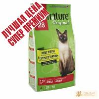 Pronature Original (Пронатюр Ориджинал) МЯСНАЯ ФИЕСТА сухой премиум корм для котов