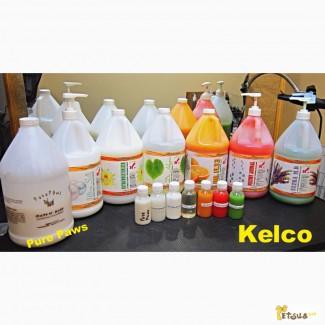 Профессиональные шампуни для собак и кошек KELCO в расфасовке 100 мл
