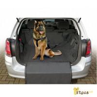 Защитная накидка в багажник авто для собак, нейлон Karlie-Flamingo