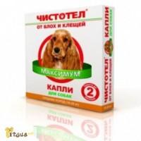 Чистотел Максимум капли для собак средних пород(10-25кг)49грн