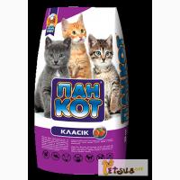 Недорогой Корм для котов Пан Кот 400гр и 10 кг. Акция