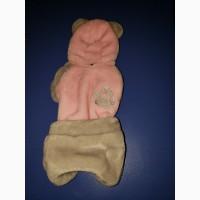 Комбинезон мишка для девочки-собачки до 1.5 кг