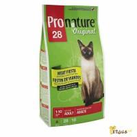 Сухой корм для кошек Пронатюр Мясная Фиеста