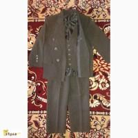 Школьная форма (костюм). Пиджак, брюки и жилетка. Для мальчика 5-12 лет