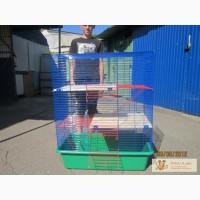 Продаю клетку-вольер для фретки, шиншилл или белок 80х45х110 см