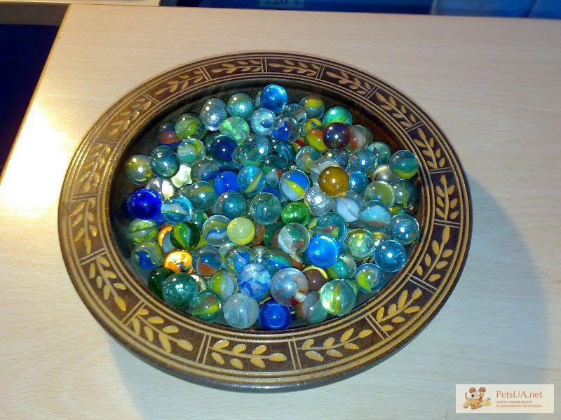 Стеклянные шарики декора