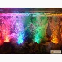 Аквадекор Вулкан, вулканчик в аквариум, декоративная подсветка,аквариумное освещение