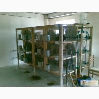 Клетки для кроликов по 12 секций
