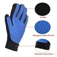 Щетка для уборки шерсти Fur Wizard + перчатка True Touch