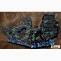 Акваріумна декорація Затонувший корабель