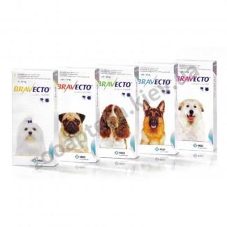 Бравекто 1000, 0 мг для собак вагою 20-40кг