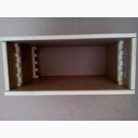 Гребенка, держатель рамок в ящик для пчелопакетов