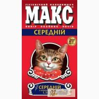 Наполнитель для кошачьего туалета МАКС
