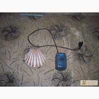 Продам компрессор для аквариума Atec AR-2500, одноканальный Б/у и декорацию для аквариума ракушка