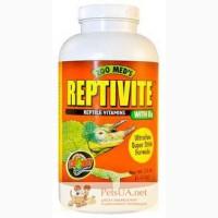 Витамины и минералы для рептилий Zoo Med ReptiVite with D3 57 г.