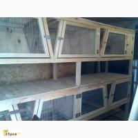 Купить деревянные клетки для кроликов (4500грн.)
