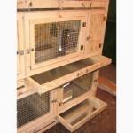 Купить деревянные клетки для кроликов (7500грн.)