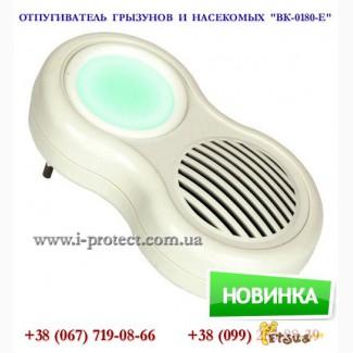 Купить бесшумный отпугиватель мышей, крыс и насекомых «ВК-0180-Е»