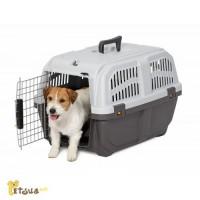 Переноска для собаки, кошки Skudo IATA 3 для авиаперевозок